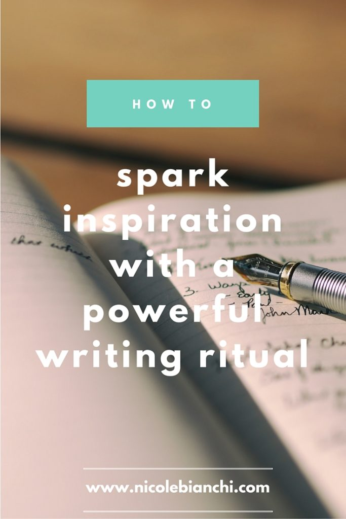 How to Spark Inspiration with a Powerful Writing Ritual