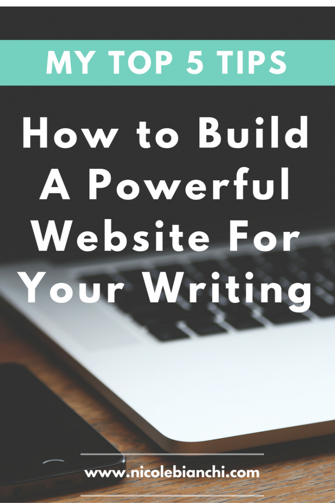 How to Build a Powerful Website for Your Writing