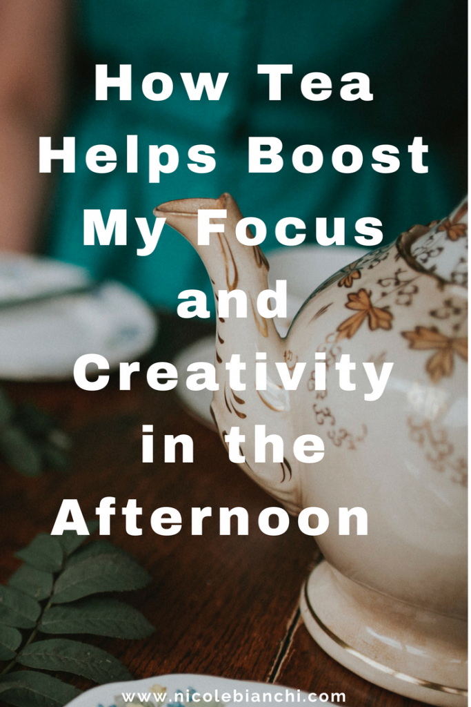 How Tea Helps Boost My Focus and Creativity in the Afternoon