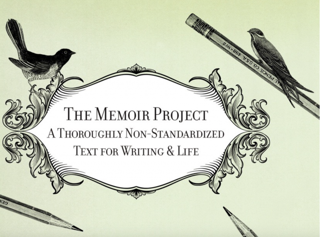 Cover of the Memoir Project book