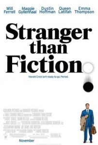 stranger than fiction 2006 movie poster