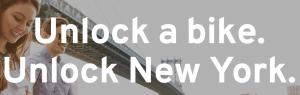 Unlock a bike…unlock New York.