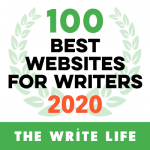 100 Best Websites for Writers 2020 Award from The Write Life